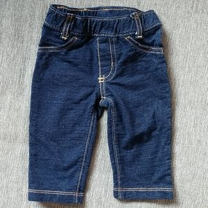 Carter's 6 Month Blue Jeans with elastic waist